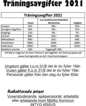 Priser 2021
